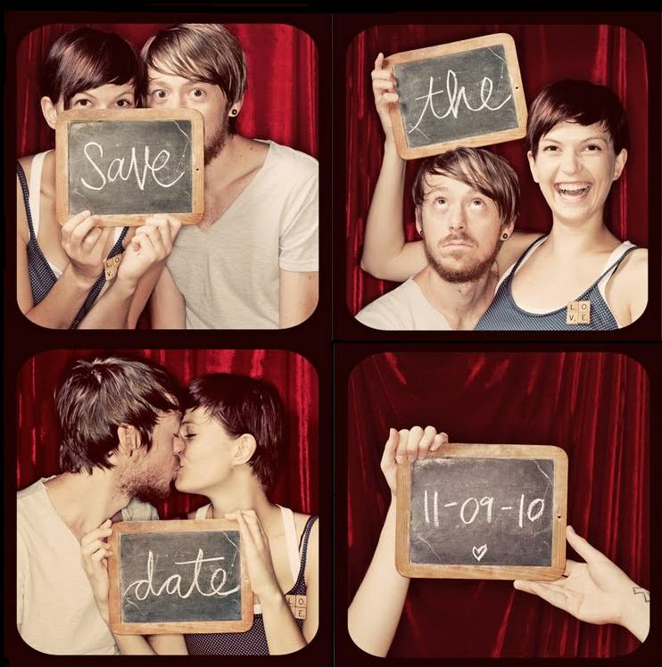 Relatively Photo Booth Save-The-Date & Invitations | Photo Booth Rocks VI93