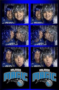 Orlando Photo Booth – Fun Photos Friday – Orlando Magic