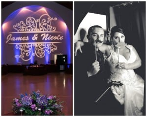 Orlando Photo Booth – Nicole + JD's Real Wedding