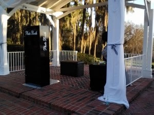 Orlando Photo Booths- Open Air Photo Booth at Cypress Grove
