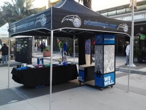 Orlando Photo Booths- Orlando Magic Season Opener