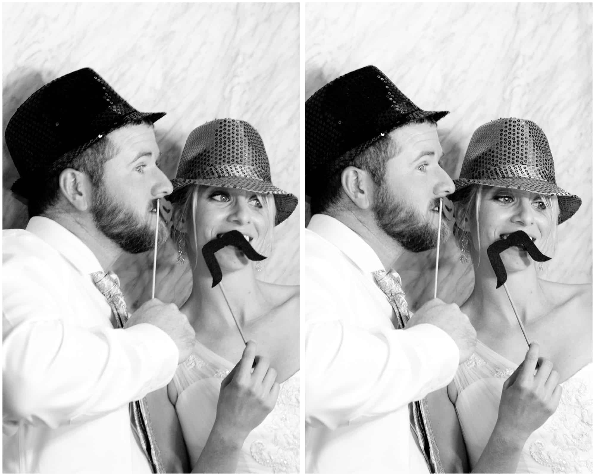 leesburg opera house wedding - photo booth rental