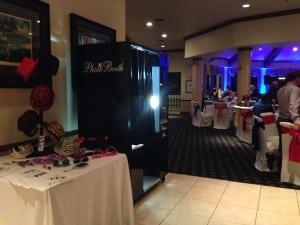 Orlando Photo Booth Rental – Classic Black at Eagle Creek