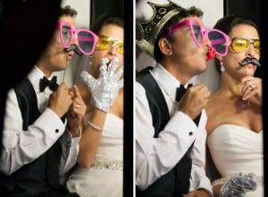 Orlando Photo Booth Rental Maitland – A Sheraton Maitland Wedding – Classic Black