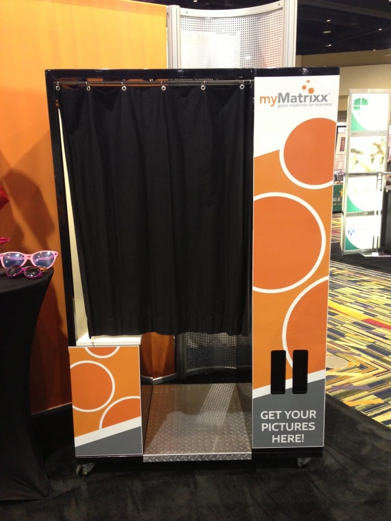 customized photo booth