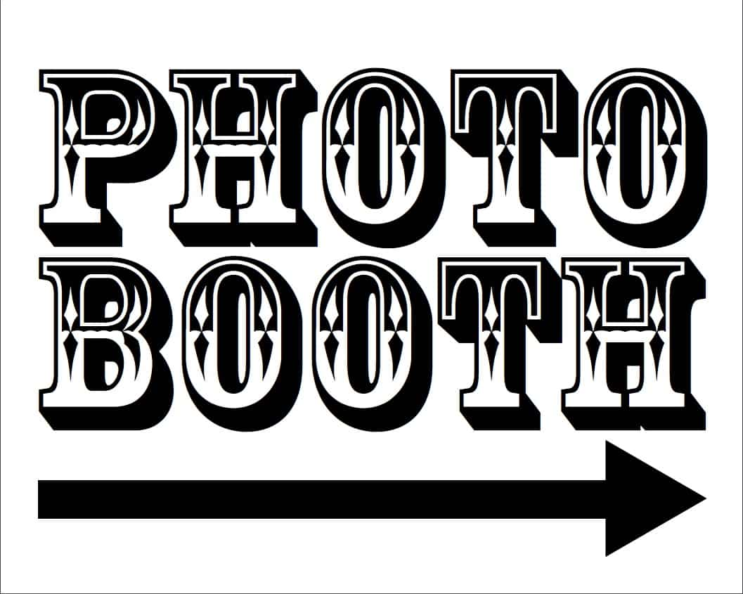 photo about Free Printable Photo Booth Sign identify Totally free Image Booth Printables For Your Marriage Picture Booth Rocks