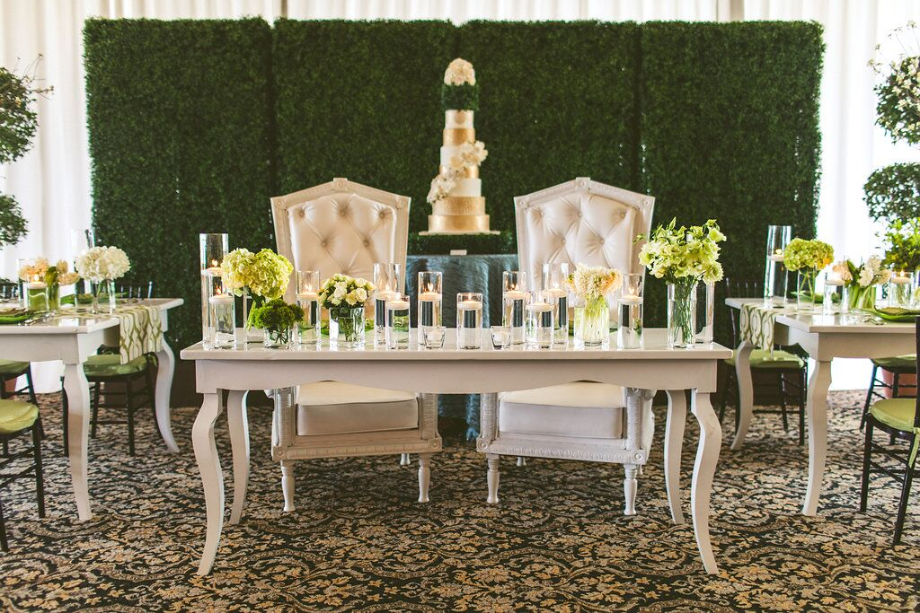Bella Bliss Wedding Showcase table decor