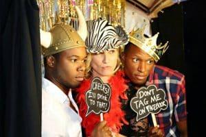 Black Printz Photo Booth – Heather's 40th Birthday