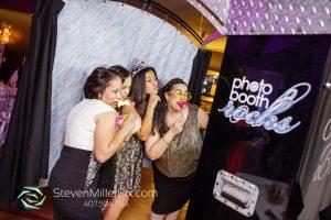 Crystal Ballroom Wedding – Black Printz Photo Booth