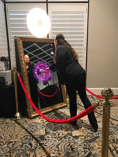 interactive mirror photo booth orlando