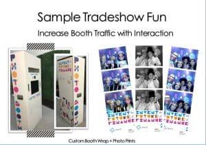sample trade show fun