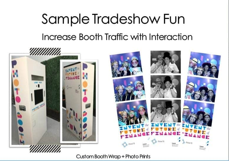 sample trade show fun