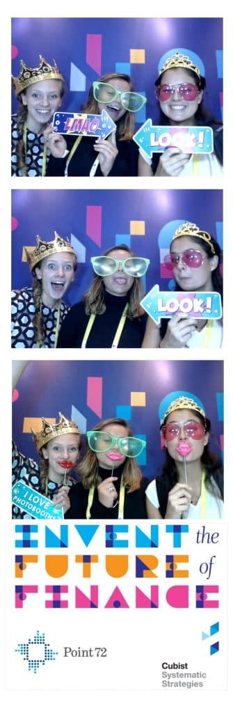 branded tradeshow photobooth images