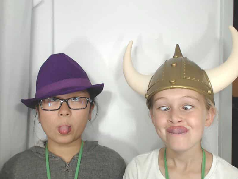 fedora and viking hats
