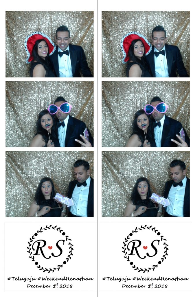 photo booth strip with custom logo