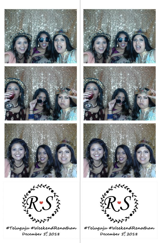 everyone loves acting silly in the photo booth