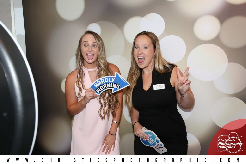 NACE Event - Orlando catering executives having a blast in the photo booth!