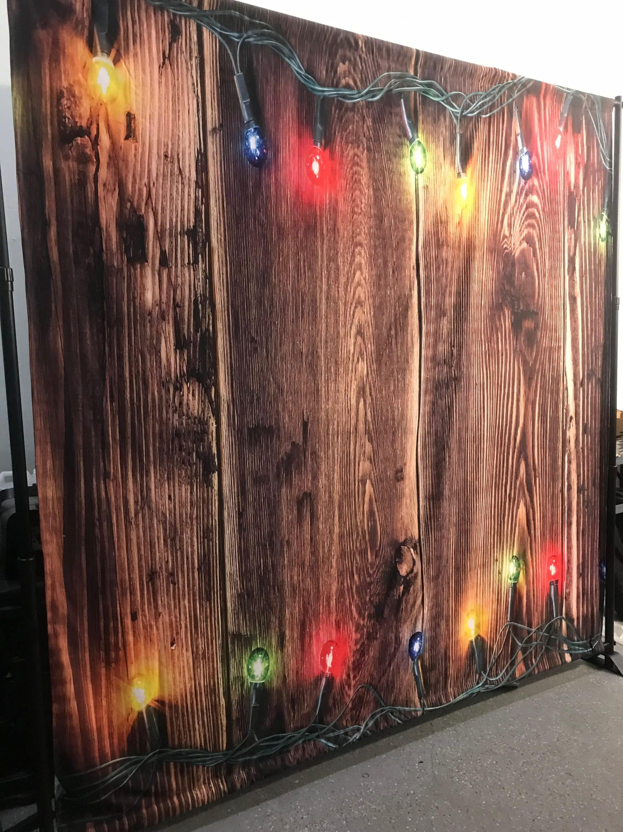 Backdrop – Wood Holiday