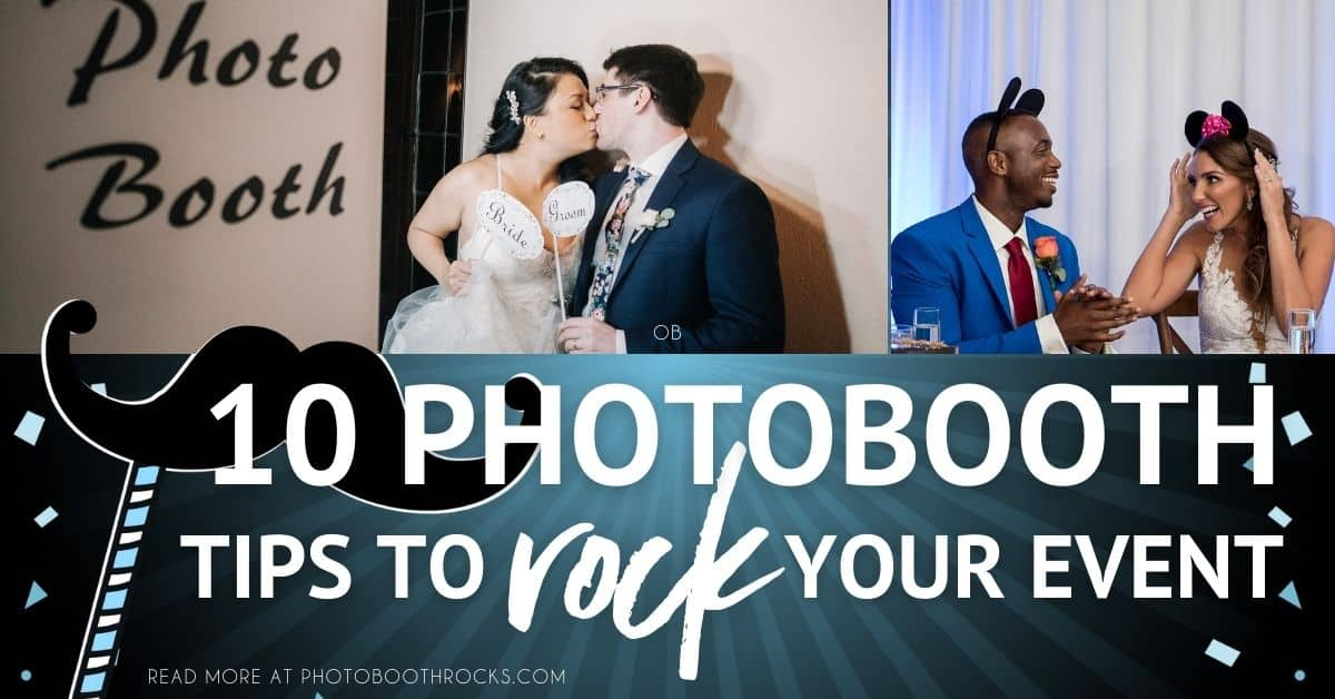 10 photo booth tips to rock your event